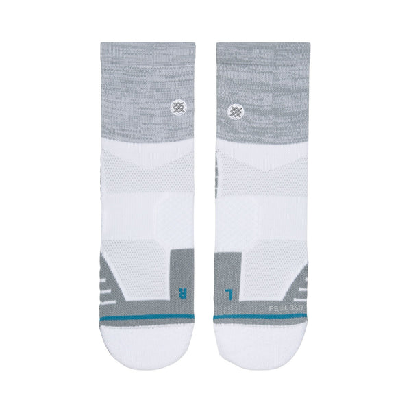 GREY 'UNCOMMON GOLF QTR' Golf Sock - Men's / 2019