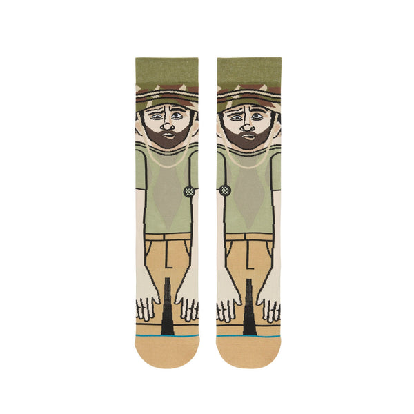 GREEN 'SPACKLER' Golf Sock - Men's / 2019
