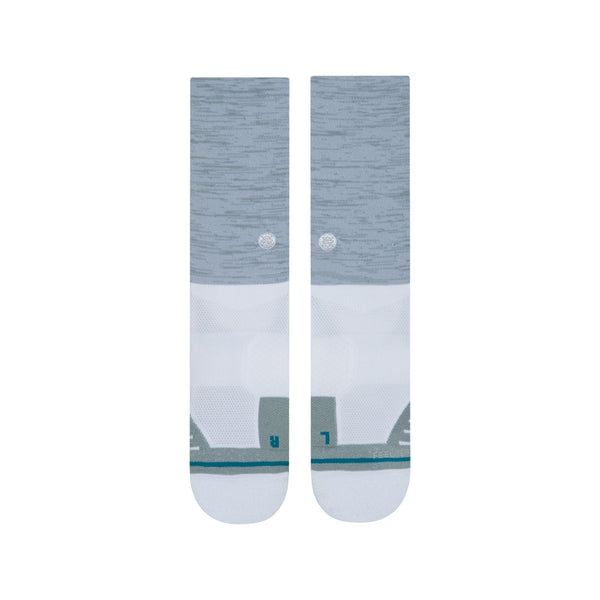 Grey 'UNCOMMON SOLIDS' Crew Golf Sock - MEN