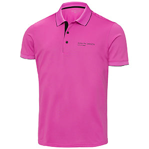 Magenta 'MARTY TOUR' GOLF POLO SHIRT - MEN / SS20