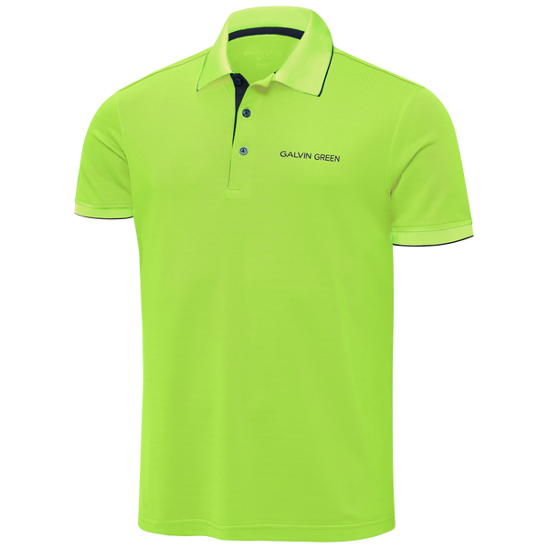 LIME 'MARTY TOUR' GOLF POLO - MEN / SS20