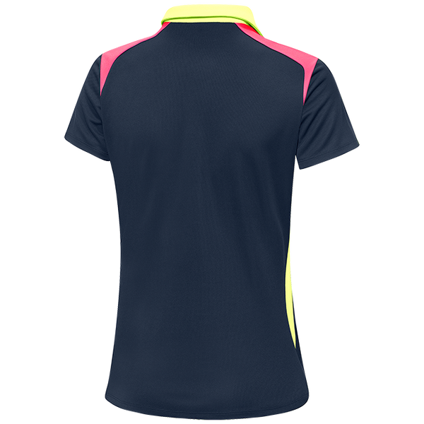 NAVY 'MARYLOU' GOLF POLO SHIRT - WOMEN / OUTLET