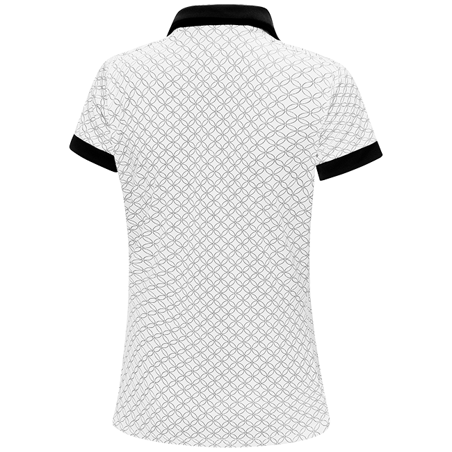 WHITE 'MAYLIN' GOLF POLO SHIRT - WOMEN / OUTLET