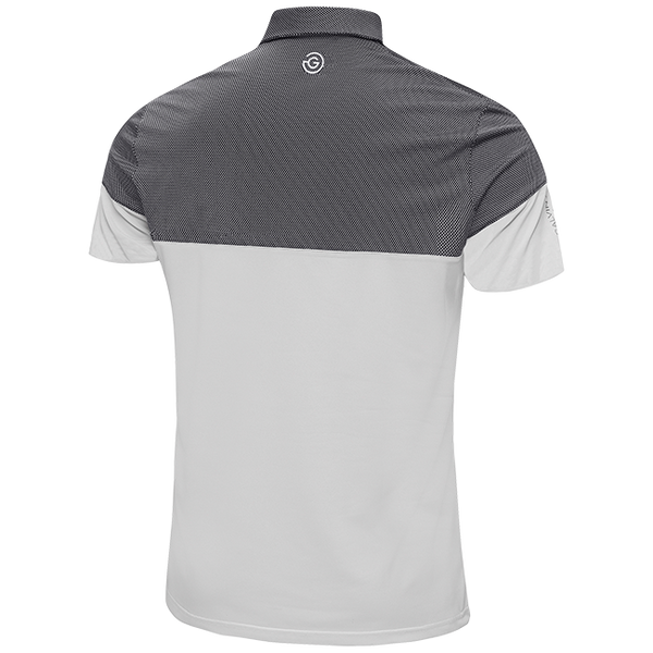 WHITE 'MILTON' GOLF POLO SHIRT - MEN / OUTLET