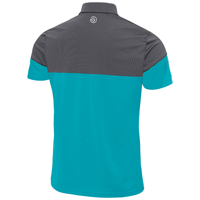 BLUE 'MILTON' GOLF POLO SHIRT - MEN / OUTLET