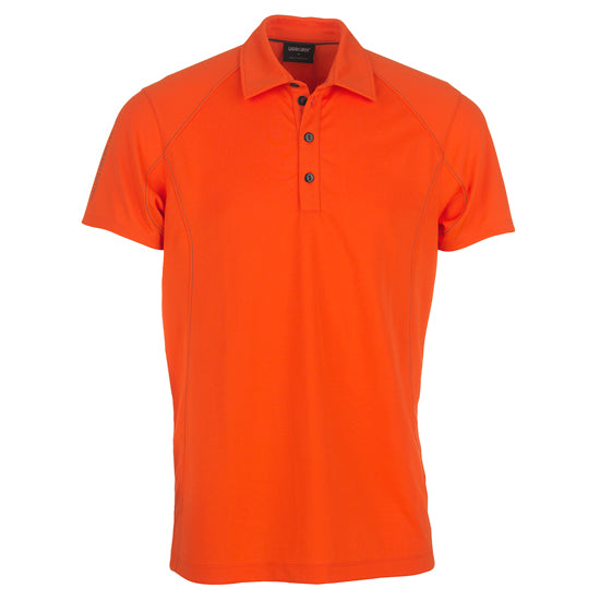 RED 'Moore' golf polo shirt - MEN / OUTLET
