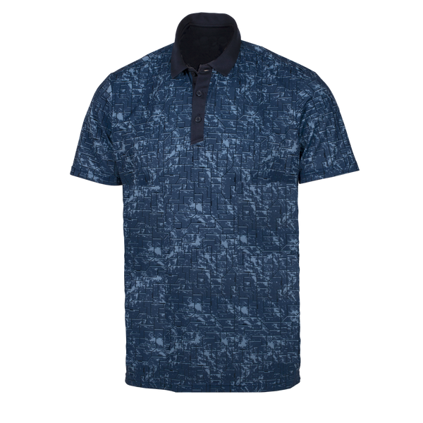 Navy 'MORRIS' Golf Polo Shirt - MEN / AW20