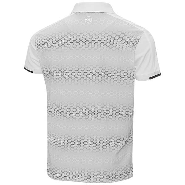 WHITE 'MYLES' GOLF POLO SHIRT - MEN / OUTLET
