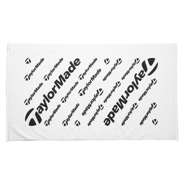 White 'Tour' Golf Towel - 2020