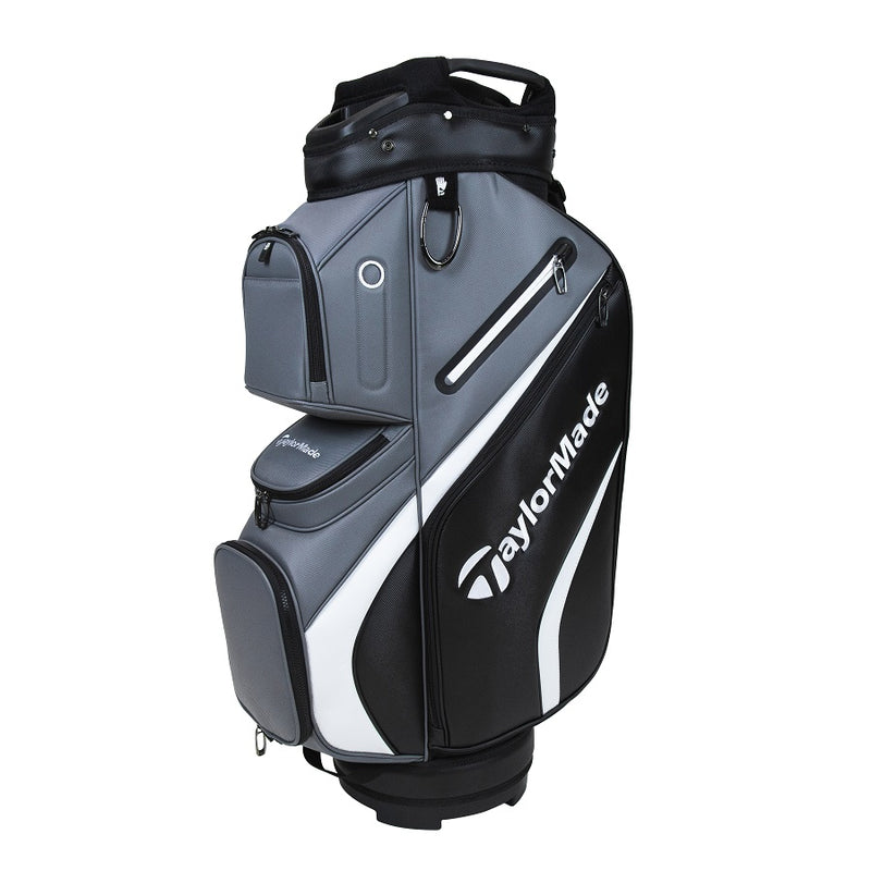 BLACK 'Deluxe' Cart Golf Bag