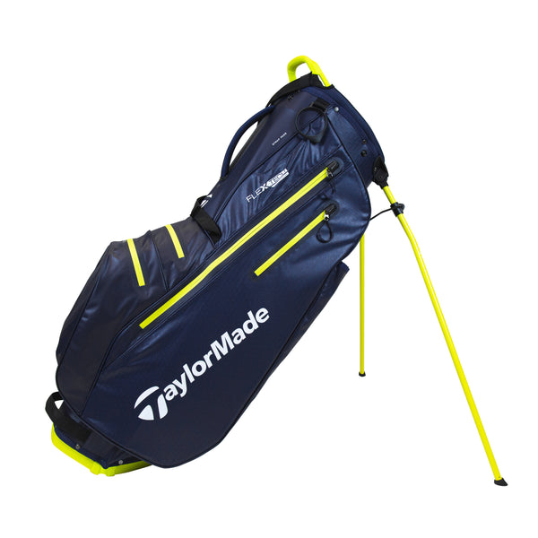 NAVY 'FLEXTECH' WATERPROOF STAND GOLF BAG