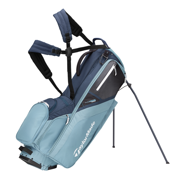 Titanium/Blue/Steel 'FlexTech' Stand Bag