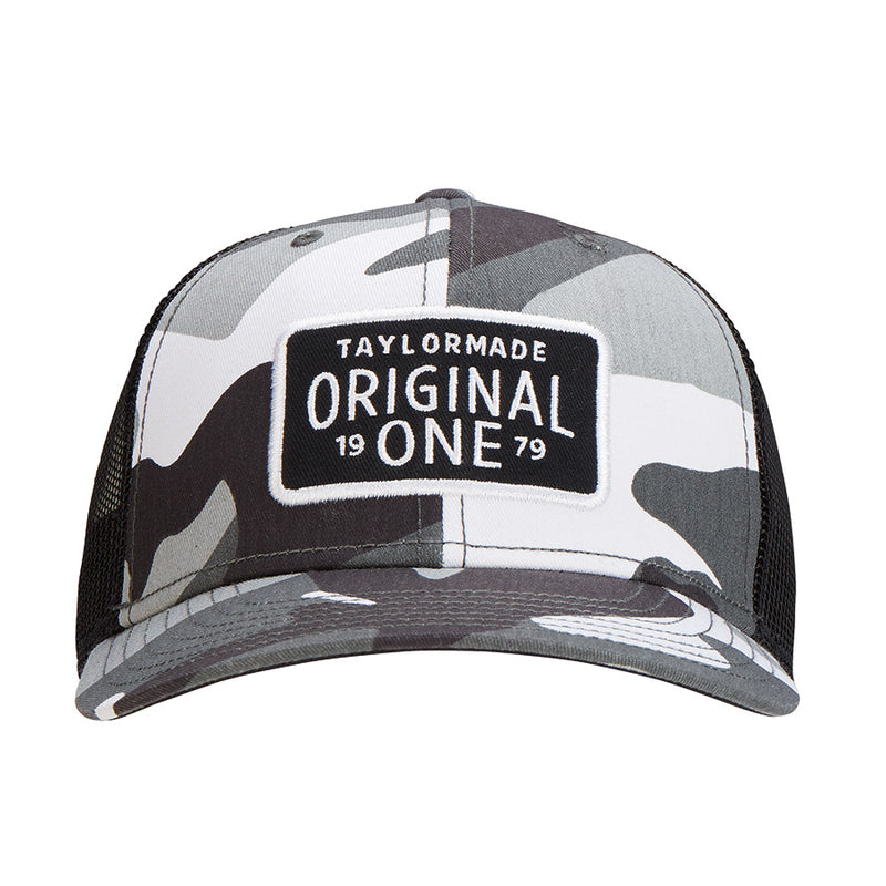 Grey Camo 'Original One' TRUCKER GOLF CAP