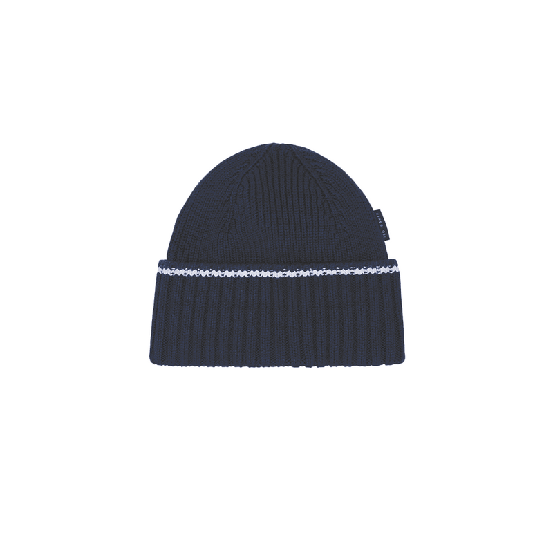 NAVY STRROLL GOLF beanie - MEN'S / AW19