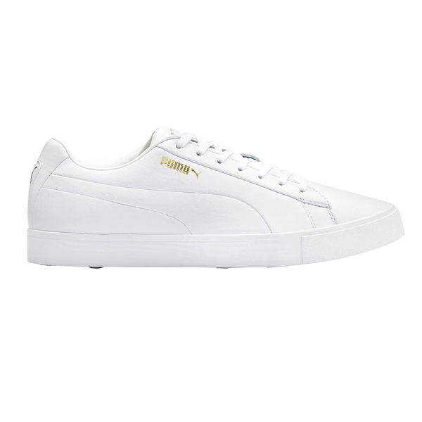 WHITE 'OG/ORIGINAL G' SPIKELESS GOLF SHOE (WATER RESISTANT) - MEN