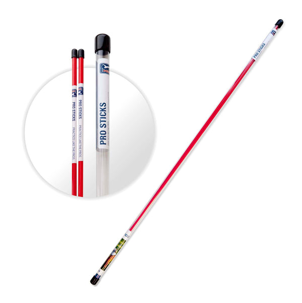 Red 'Pro Sticks' Golf Alignment Sticks - 2 PACK