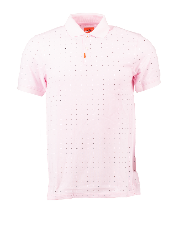 Pink 'The Nike Polo' Printed Slim Fit Polo - MEN / 2021