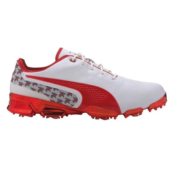 RED IGNITE PRO ADAPT 'ATL - HIGH RISK RED' GOLF SHOE - MEN / LIMITED EDITION