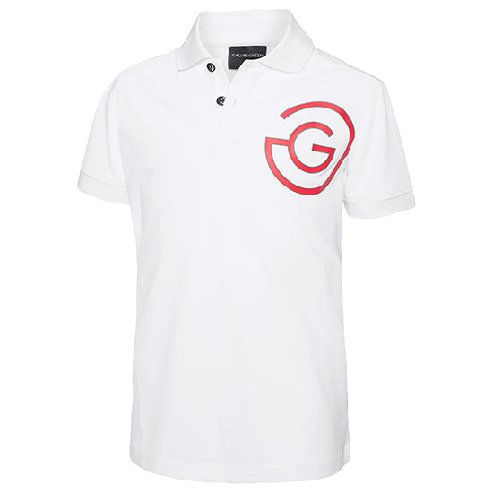 White 'Ray' Golf Polo Shirt - SS20 / JUNIOR