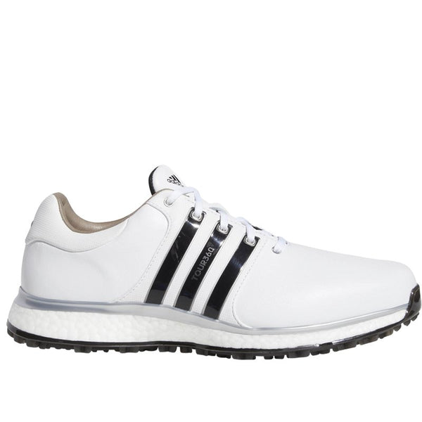 WHITE 'TOUR360 XT-SL' GOLF SHOE - MEN / OUTLET