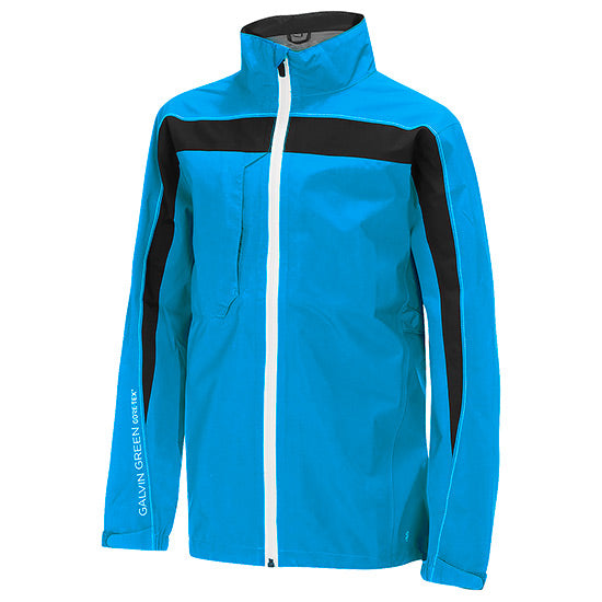 BLUE 'REED' GORE-TEX WATERPROOF GOLF JACKET - SS20 / JUNIOR