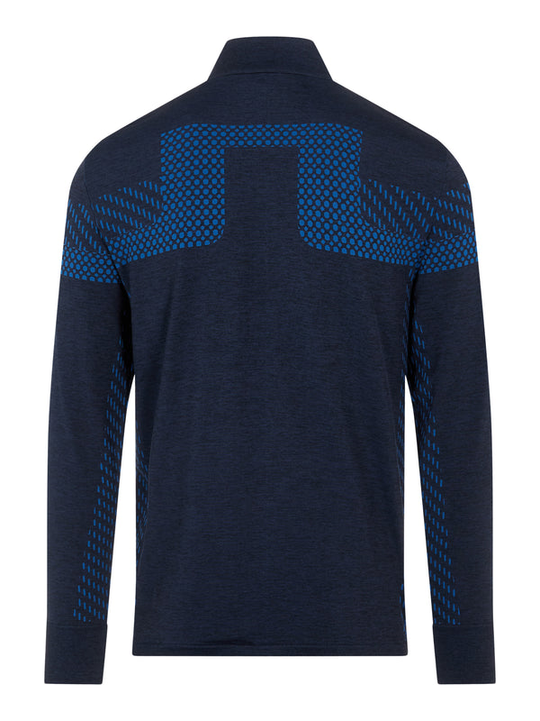 NAVY 'Jim' Seamless Golf Mid Layer - MEN / AW20