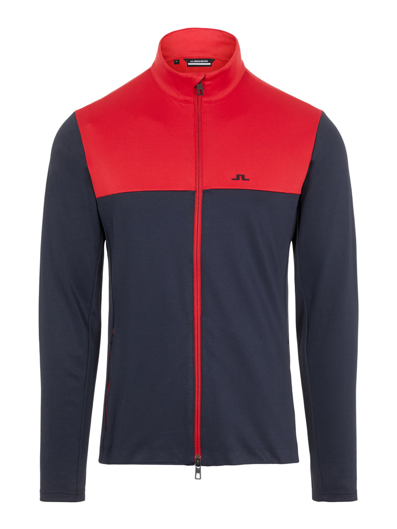 RED 'Banks' Golf Mid Layer - MEN / AW20