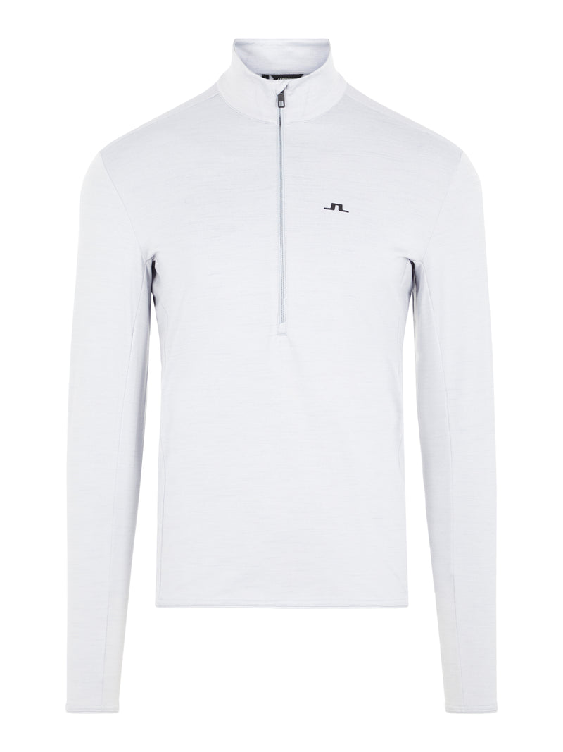 GREY 'Luke' 1/2 Zip Golf Mid Layer - MEN / AW20