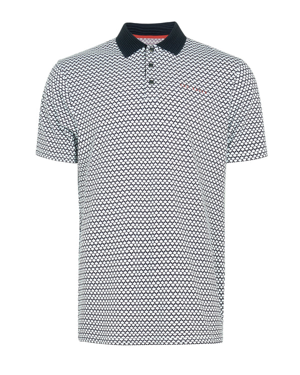 NAVY 'SPININ' golf polo shirt - MEN / SS20