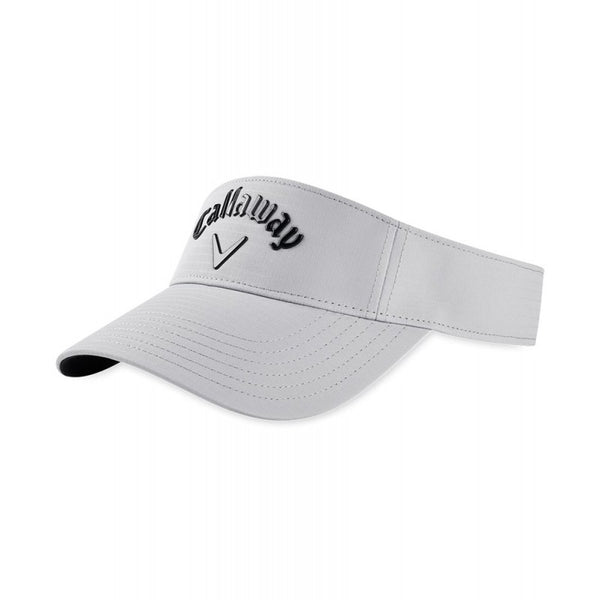 GREY 'LIQUID METAL' GOLF VISOR - MEN / SS20