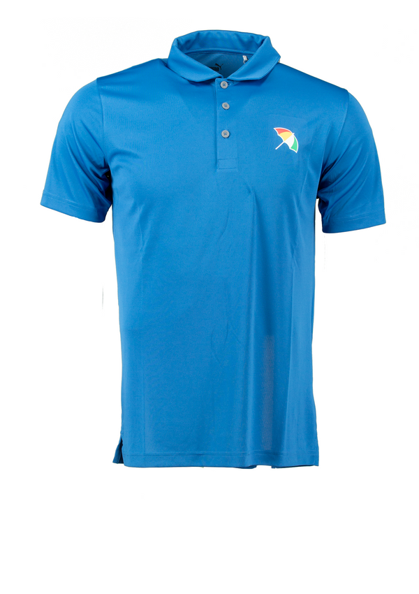 STAR SAPPHIR 'UMBRELLA' Golf Polo Shirt - Arnold Palmer X PUMA / MEN