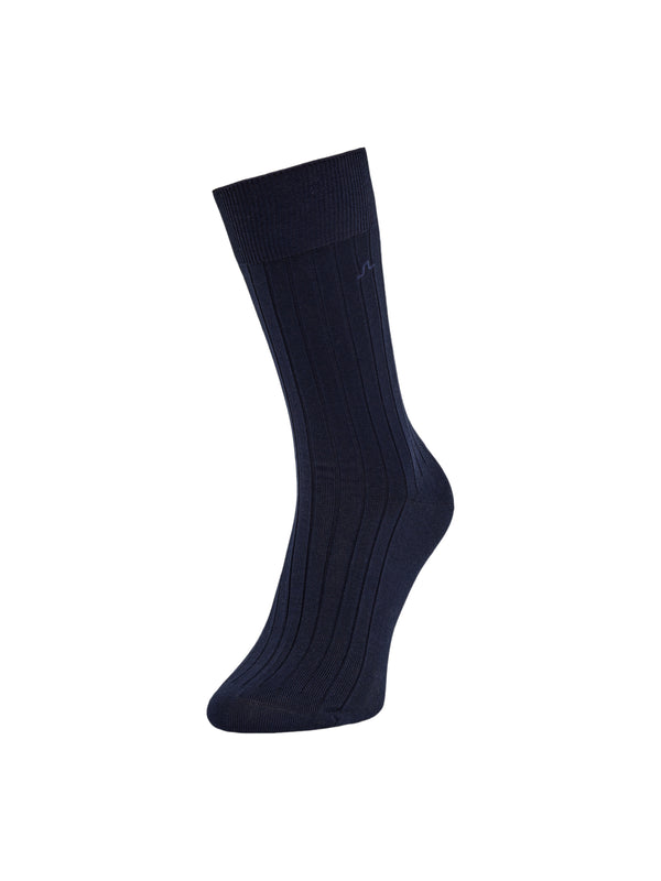 NAVY 'Rib Knit' SOCK - MEN / AW20