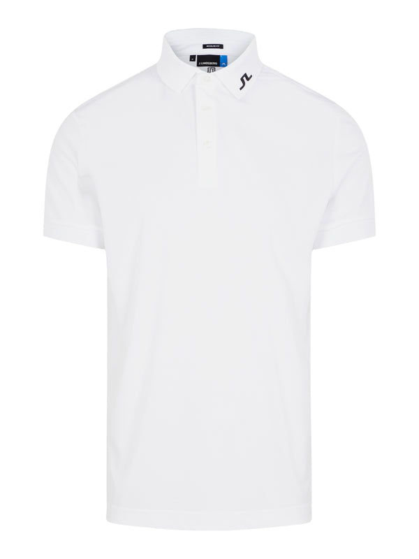 WHITE 'Tour Tech' Golf Polo Shirt - MEN / SS20