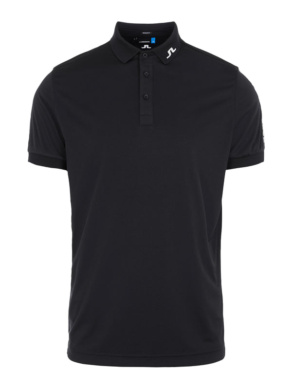 Black 'Tour Tech' Golf Polo Shirt - MEN