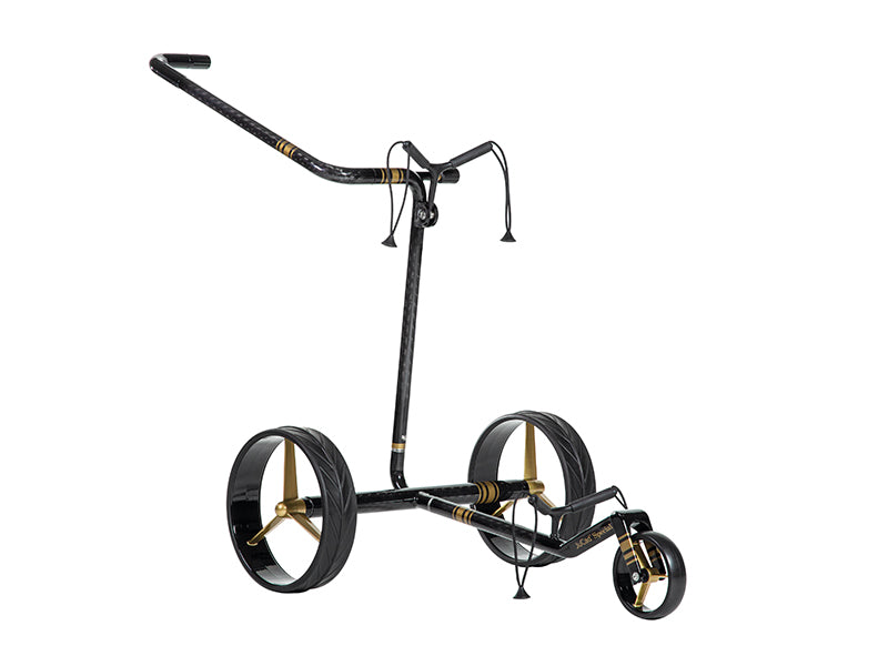 Lightweight 'Special' Carbon 3-wheel Manual Golf Trolley - CUSTOM / BESPOKE