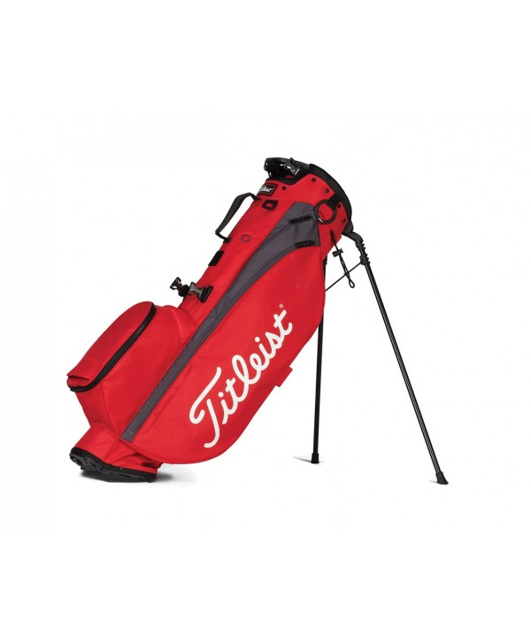 Red/Graphite 'PLAYERS 4' Stand Golf Bag