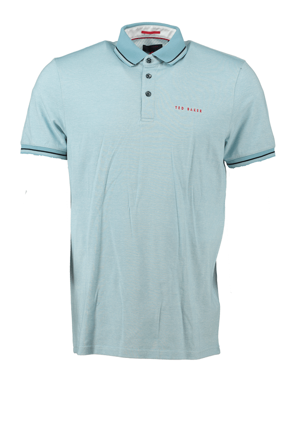 BLUE  'CLUBS' Golf Polo - MEN'S / OUTLET