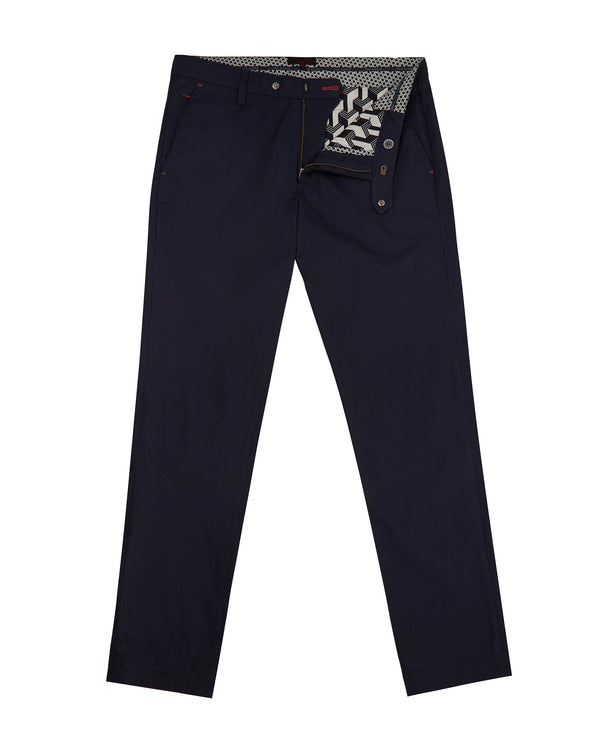 NAVY ICECUB' Classic fit golf trousers - Men's / SS19