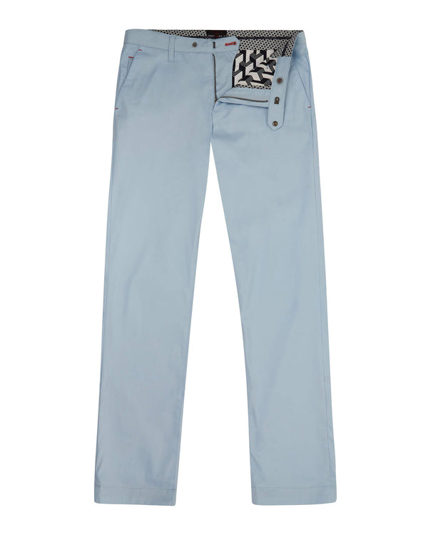 BLUE 'ICECUB' Classic fit golf trousers - Men's / SS19