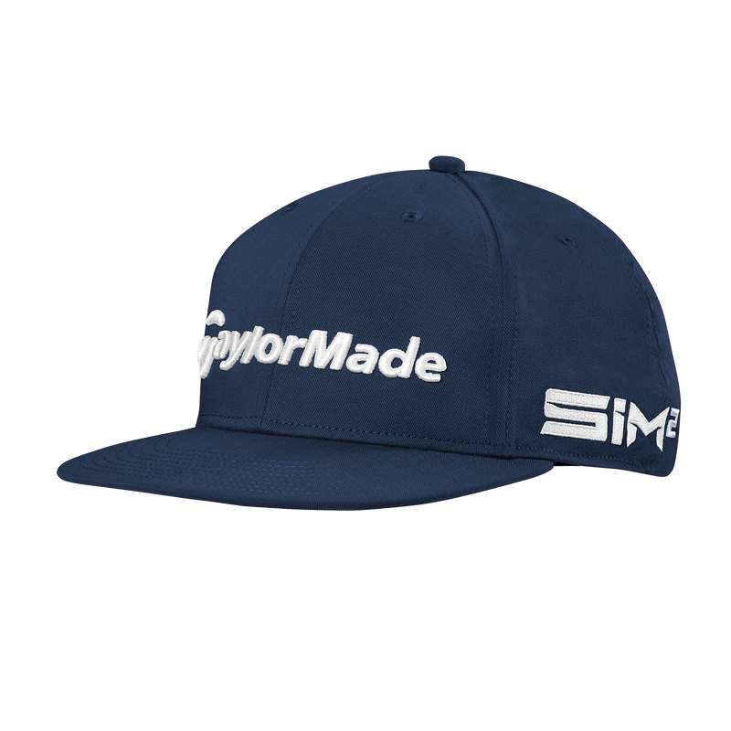 NAVY 'TOUR FLATBILL' GOLF CAP