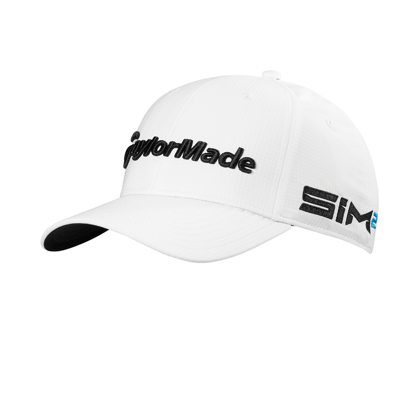 WHITE 'TOUR RADAR' GOLF CAP
