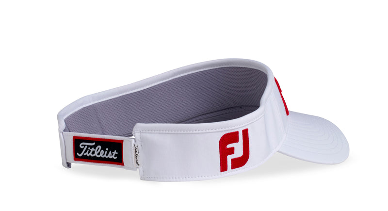 White 'Tour Performance' Golf Visor - MEN / 2020