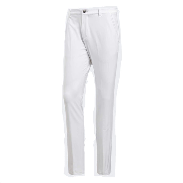 White 'Ultimate Stretch' Twill Golf Trouser - MEN / SS20
