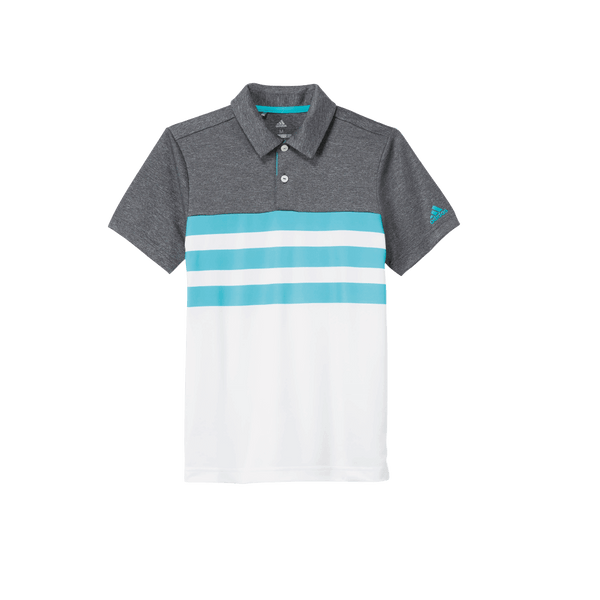 Aqua 3-Stripes Fashion Polo DM7480 - JUNIOR / OUTLET