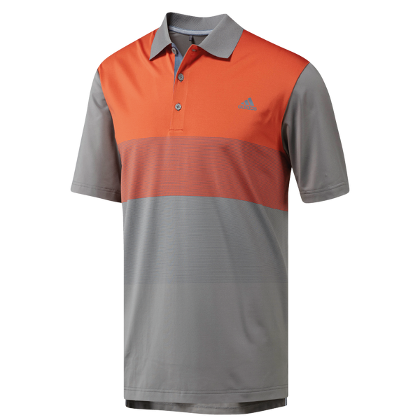 GREY THREE ULTIMATE COLOR BLOCK POLO CZ8209 - Men's / AW18