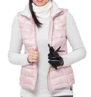 Quartz Pink Elissa Vest - WOMEN / OUTLET