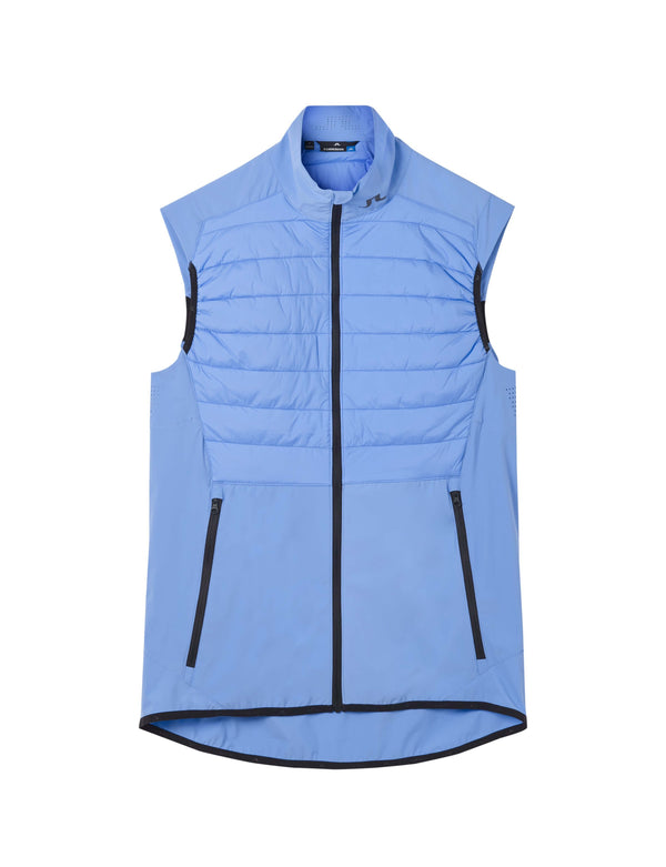 Blue 'Hybrid' Golf Vest Lux Softshell - MEN / AW20