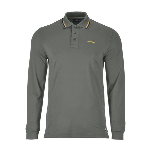 PLATINUM GREY ALVIN POLO   -  SS17