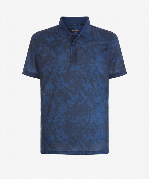 TOTECL SHADOW PRINT POLO   -