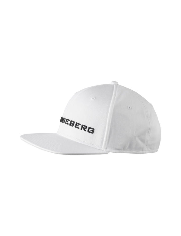 White Colton Flexi Twill Cap - Men's / SS18